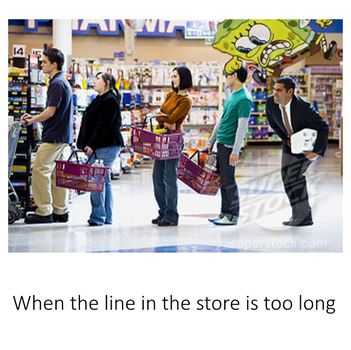 When the line in the store is too long by Giapetyoutube