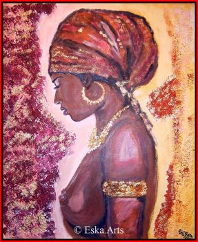 'African woman' by XSTAMX