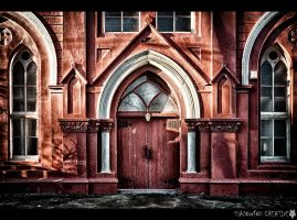 Red Door by shadowfoxcreative