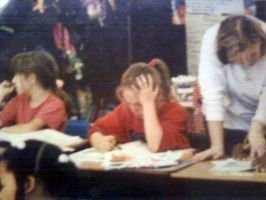 ::Me in second grade:: by KaylaChan92