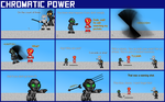 Chromatic Power #007: Warning Shot by Color17