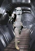 Stormtrooper guarding the hall by hbrika