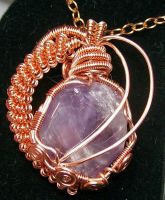 Deep Within Your Heart Modified Pendant by HeatherJordanJewelry
