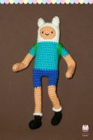 Amigurumi - Finn the human by PurringCakes