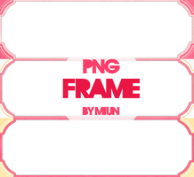 [Share PNG] Pink Frames by MiunLuff13