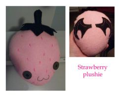 Strawberry Plushie by BakaMichi