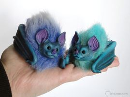 Snow bats by metazoe