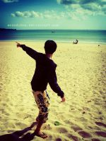 Jimbaran beach by ECAndybox