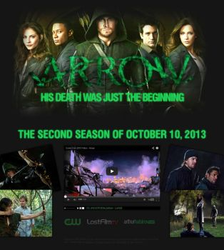 Arrow - second season promo by d1sapp3ar
