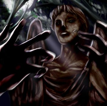 Dr. Who -- Don't Blink... by TheOneCalledNio
