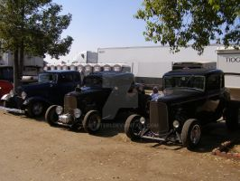 Tres Hot Rods by Jetster1