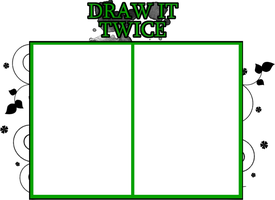DRAW IT TWICE - Meme by Lightning441
