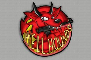Hell Hound Logo by ISZK-tv