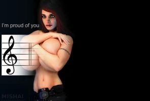 Piano Mass Effect 3 ost: I'm proud of you by Mishai