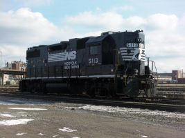 Norfolk Southern #5118 GP38-2HSH by Fluttershy-Lover