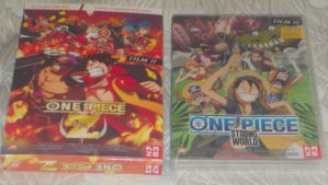My french One Piece Movies collection by gekkodimoria