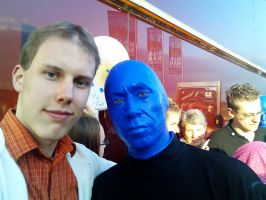 with a Blue-Man 2 by mb-neo