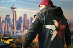 Infamous Second Son Delsin Cosplay by dinobot2000