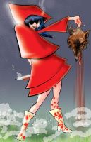 Red Riding Hood colored by jhames34