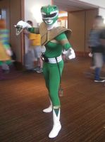 SacAnime: Green Ranger Again by wolfforce58
