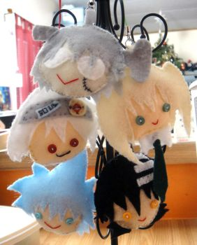 Felt Friends: Soul Eater by Ryoko-and-Yami