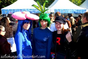 Oddish + Vileplume were caught by EllisPhotobox