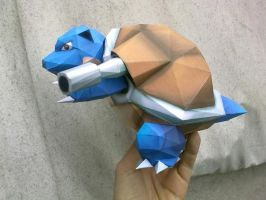 The Blastoise by MichelCFK