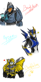 TFP Sketches by MoonTiger456