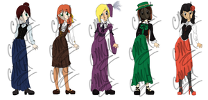 Fashion Adoptables 01 (OPEN) by Ina-Haru