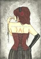 Lace and Leather by MysticFaeFantasyArt