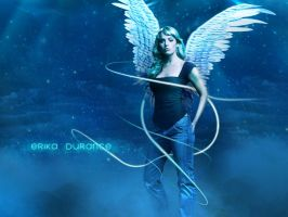Erika Durance Wallpaper by MP-Design