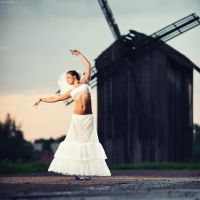 Windmill by platen