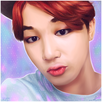 Jimin Portrait by KoriNeko18