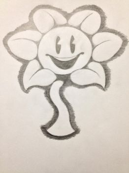 Flowey the Flower by NickJAwesome