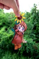 Hanging Sunflower by iAlly