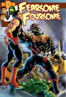 FEARSOME FOURSOME COVER 2 by gammaknight