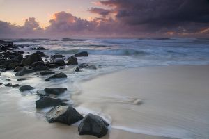 Cabarita dawn by shelltree