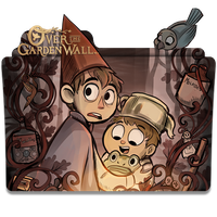 Over the Garden Wall - Icon Folder by ubagutobr