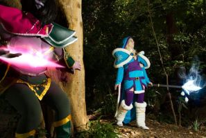 Cosplay Shoot: Lanaya Templar Assassin from Dota 2 by CosplayingSakura