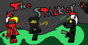 The Stalker (me,plants,and scary) 0-0 by superlizards0