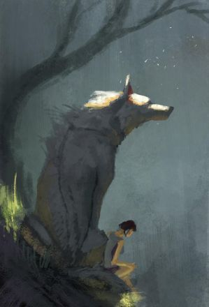 Princess Mononoke Sketch by JadeMere