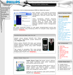 Philips Mobile Fans site by xsos