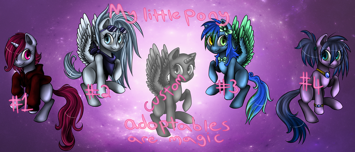 My Little Pony: Adoptables are Magic by Loopsy-Loo