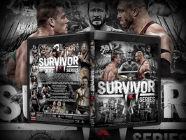 Wwe Survivor Series 2012 Blu-ray Cover by THE-MFSTER-DESIGNS