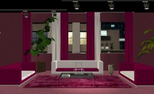 Red room stock pack by Ecathe