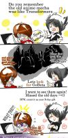 Our old days with GoBots anime by JinoSan