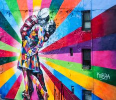 The Colorful Kiss by namespace