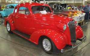 37 Chevy coupe by zypherion