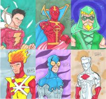 JLA Cards 2 by Glwills1126