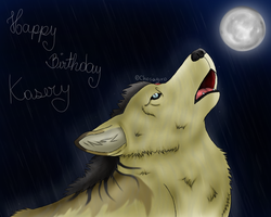 [gift] Howling in the rain by chosaguro